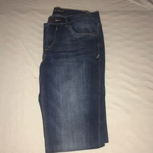 Express jeans-mid rise
